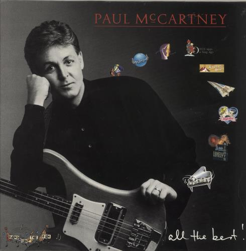 Paul McCartney and Wings All The Best - EX 2-LP vinyl record set (Double Album) UK MCC2LAL387365