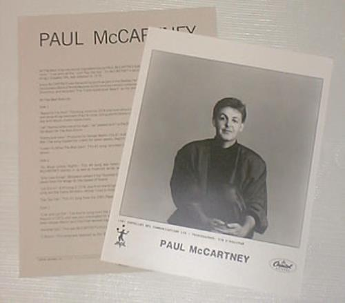 Paul McCartney And Wings All The Best Media Press Pack US MCCPPAL201337
