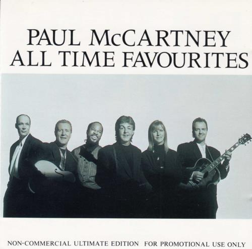 Paul McCartney and Wings All Time Favourites 2 CD album set (Double CD) Japanese MCC2CAL158082