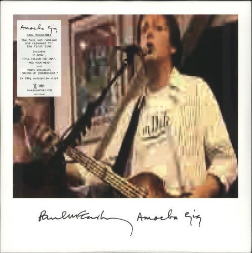Paul McCartney and Wings Amoeba Gig - 180gm Vinyl - Sealed 2-LP vinyl record set (Double Album) UK MCC2LAM725425