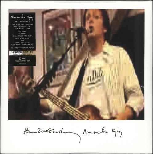 Paul McCartney and Wings Amoeba Gig - 180gram Clear & Amber Vinyl - Sealed 2-LP vinyl record set (Double Album) UK MCC2LAM725423