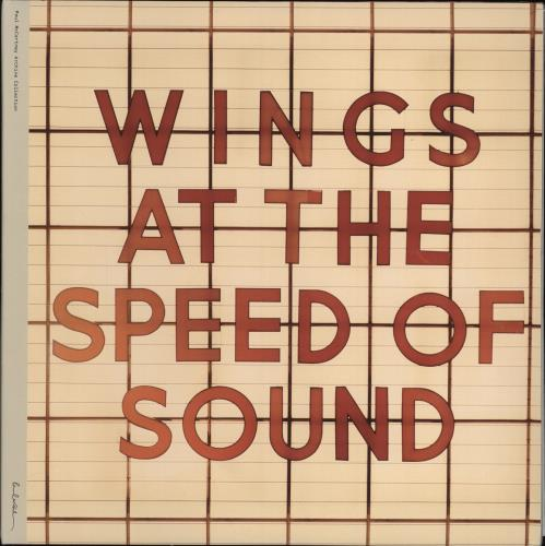 Paul McCartney and Wings At The Speed Of Sound - 180g 2-LP vinyl record set (Double Album) UK MCC2LAT768392