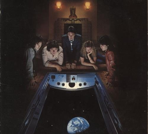 Paul McCartney and Wings Back To The Egg + Playing Cards vinyl LP album (LP record) UK MCCLPBA744863