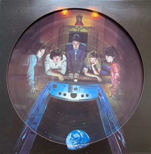 Paul McCartney and Wings Back To The Egg picture disc LP (vinyl picture disc album) UK MCCPDBA132674