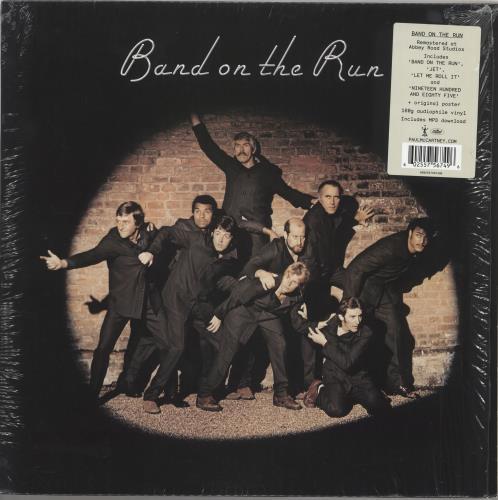 Paul McCartney and Wings Band On The Run - 180gram Vinyl vinyl LP album (LP record) UK MCCLPBA735524