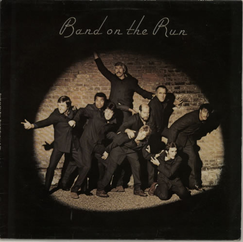 Paul McCartney and Wings Band On The Run - 1st vinyl LP album (LP record) UK MCCLPBA557921