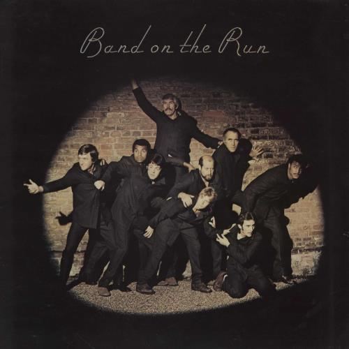 Paul McCartney and Wings Band On The Run - 2nd + Poster - EX vinyl LP album (LP record) UK MCCLPBA761338