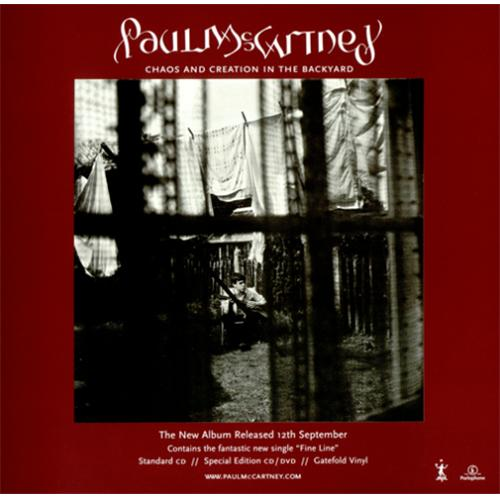 Paul Mccartney And Wings Chaos And Creation In The