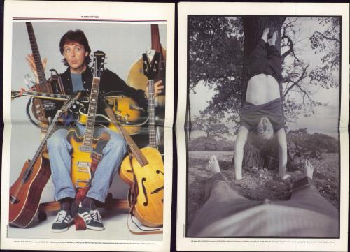 Paul McCartney and Wings Club Sandwich 77, 78 fanzine UK MCCFACL776696