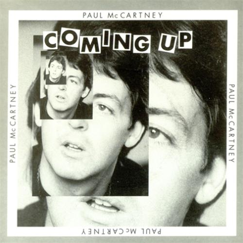 """Paul McCartney and Wings Coming Up - P/S 7"""" vinyl single (7 inch record) UK MCC07CO114838"""