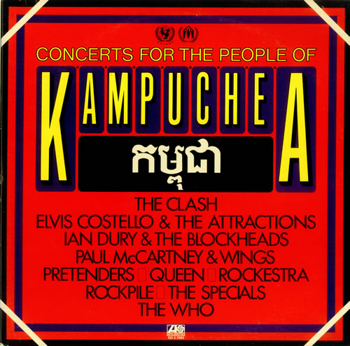 Paul McCartney and Wings Concerts For The People Of Kampuchea 2-LP vinyl record set (Double Album) US MCC2LCO141292