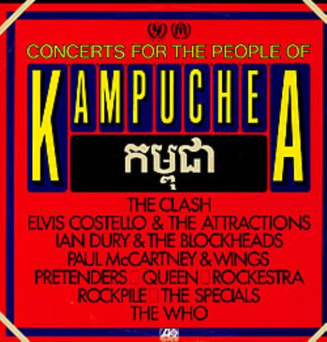 Paul McCartney and Wings Concerts For The People Of Kampuchea 2-LP vinyl record set (Double Album) Australian MCC2LCO224739