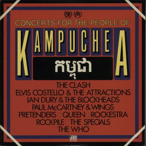 Paul McCartney and Wings Concerts For The People Of Kampuchea 2-LP vinyl record set (Double Album) Japanese MCC2LCO764738