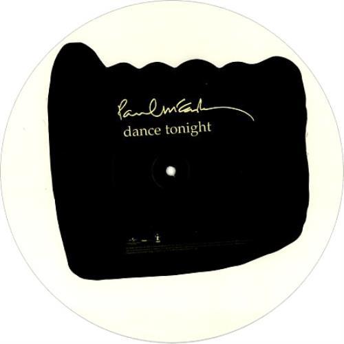 Paul McCartney and Wings Dance Tonight - Single Sided uncut picture disc (vinyl) UK MCCUNDA421611