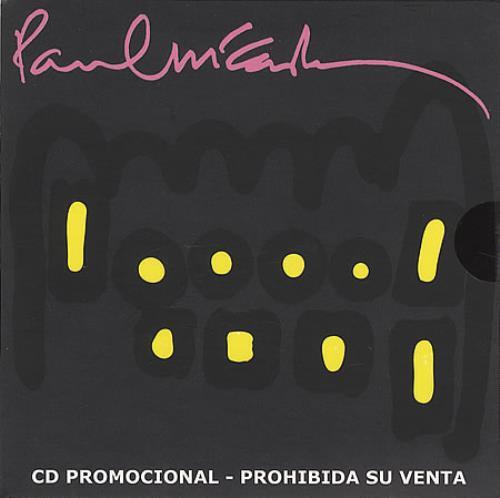 "Paul McCartney and Wings Dance Tonight CD single (CD5 / 5"") Colombian MCCC5DA415897"