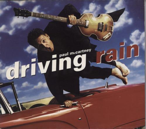 Paul McCartney and Wings Driving Rain + Slipcase CD album (CDLP) UK MCCCDDR768251
