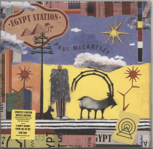 Paul McCartney and Wings Egypt Station - 180gram Vinyl + Concertina Sleeve - Sealed 2-LP vinyl record set (Double Album) US MCC2LEG714433