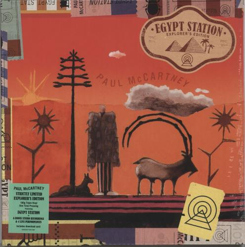 Paul McCartney and Wings Egypt Station: Explorer's Edition - 180gm Vinyl - Sealed 3-LP vinyl record set (Triple Album) UK MCC3LEG721593