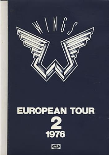 Paul McCartney And Wings European Tour 1976