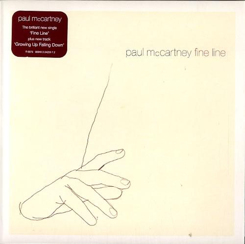 "Paul McCartney and Wings Fine Line 7"" vinyl single (7 inch record) UK MCC07FI333352"