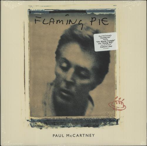 Paul McCartney and Wings Flaming Pie - Sealed vinyl LP album (LP record) US MCCLPFL659270