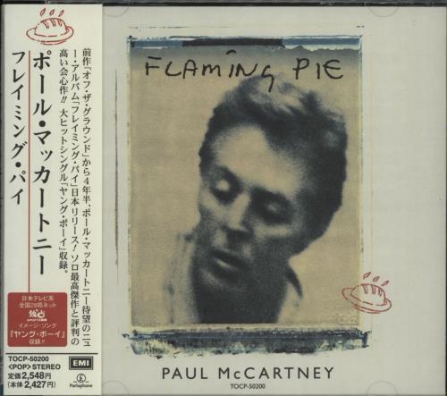 Paul McCartney and Wings Flaming Pie CD album (CDLP) Japanese MCCCDFL137895