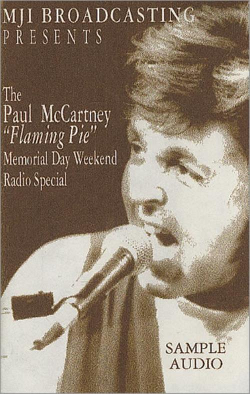 Paul McCartney and Wings Flaming Pie cassette album US MCCCLFL205210