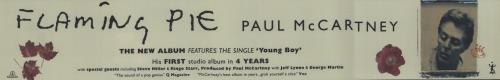 Paul McCartney and Wings Flaming Pie display UK MCCDIFL674201