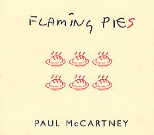 Paul McCartney and Wings Flaming Pies Recipe Cd Size Pack memorabilia Mexican MCCMMFL99018