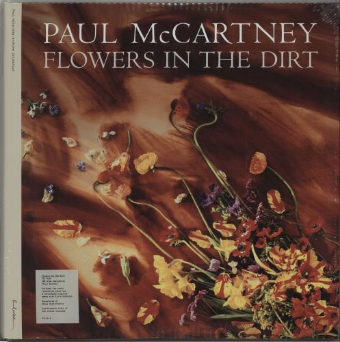 Paul McCartney and Wings Flowers In The Dirt - 180gram + Sealed 2-LP vinyl record set (Double Album) UK MCC2LFL670472