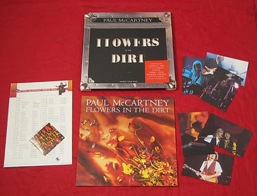 Paul Mccartney And Wings Flowers In The Dirt Ex Uk Box