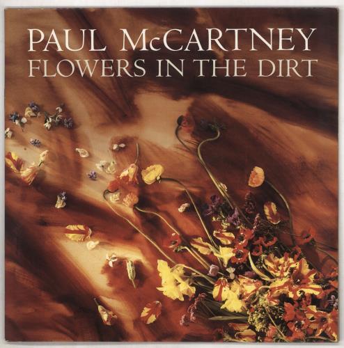 Paul McCartney and Wings Flowers In The Dirt - Factory Sample vinyl LP album (LP record) UK MCCLPFL739934