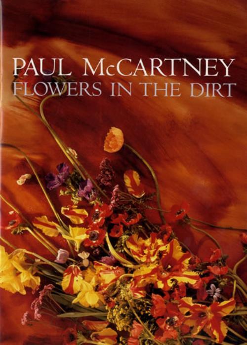 Paul McCartney and Wings Flowers In The Dirt handbill Japanese MCCHBFL555360