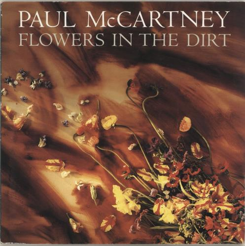 Paul McCartney and Wings Flowers In The Dirt vinyl LP album (LP record) French MCCLPFL693383