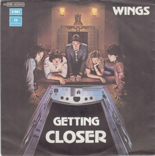 Paul Mccartney And Wings Getting Closer Italian 7 Quot Vinyl