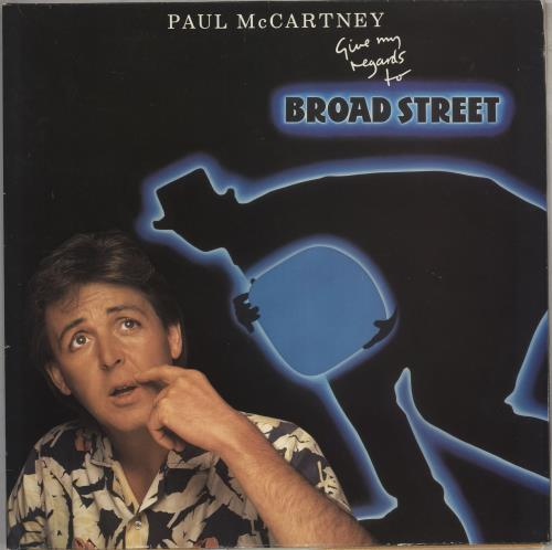 Paul McCartney and Wings Give My Regards To Broad Street vinyl LP album (LP record) UK MCCLPGI173137