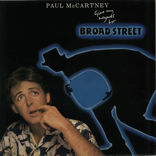 Paul McCartney and Wings Give My Regards To Broad Street vinyl LP album (LP record) Dutch MCCLPGI624934