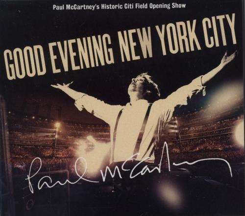 Paul McCartney and Wings Good Evening New York City 3-disc CD/DVD Set UK MCC3DGO756519
