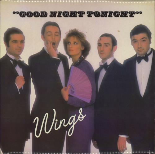 "Paul McCartney and Wings Goodnight Tonight - shrink 12"" vinyl single (12 inch record / Maxi-single) UK MCC12GO729057"