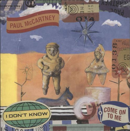 "Paul McCartney and Wings I Don't Know / Come On To Me - RSD BF18 - Sealed 7"" vinyl single (7 inch record) UK MCC07ID708663"