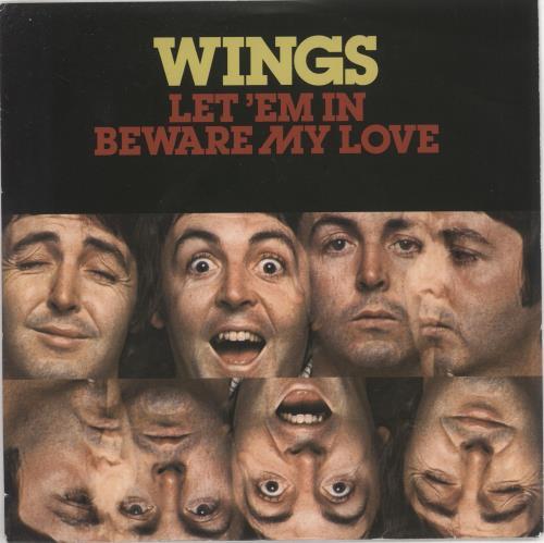 "Paul McCartney and Wings Let 'Em In - RSD BF14 7"" vinyl single (7 inch record) UK MCC07LE617634"