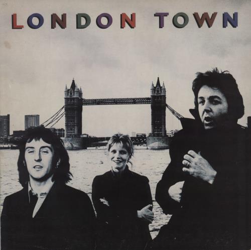 Paul McCartney and Wings London Town + Poster - EX vinyl LP album (LP record) UK MCCLPLO759646