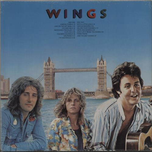 Paul McCartney and Wings London Town - Sealed vinyl LP album (LP record) US MCCLPLO666798