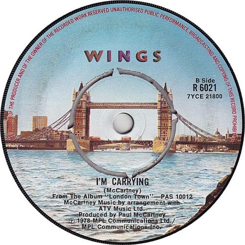 Paul McCartney and Wings London Town UK 7