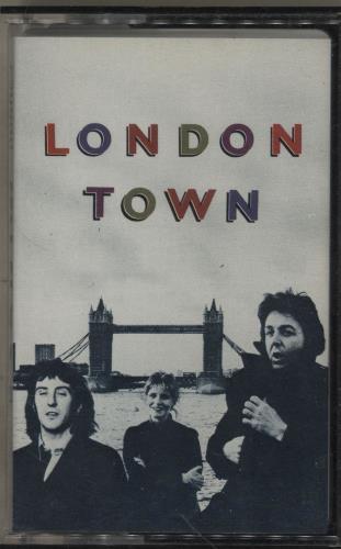 Paul McCartney and Wings London Town cassette album UK MCCCLLO759008