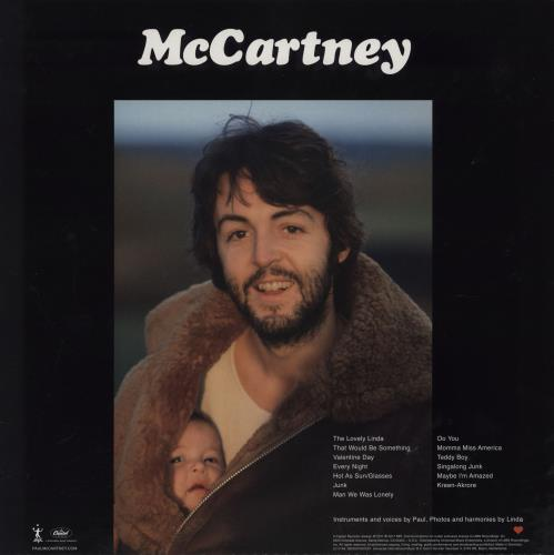 Paul McCartney and Wings McCartney - 180gram Vinyl + Obi & Insert vinyl LP album (LP record) Japanese MCCLPMC759910