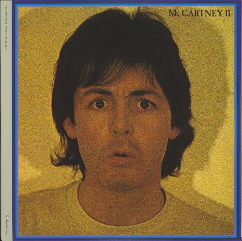 Paul McCartney and Wings McCartney II - 180gm 2-LP vinyl record set (Double Album) UK MCC2LMC777000