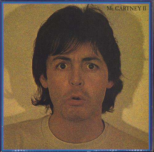 Paul McCartney and Wings McCartney II - EX vinyl LP album (LP record) UK MCCLPMC161225