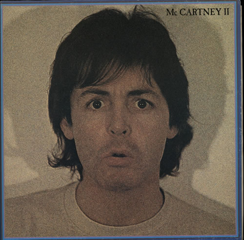 Paul McCartney and Wings McCartney II vinyl LP album (LP record) Canadian MCCLPMC572682