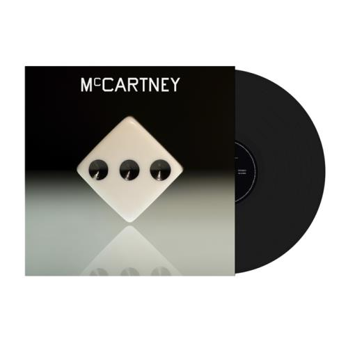 Paul McCartney and Wings McCartney III - Black Vinyl vinyl LP album (LP record) UK MCCLPMC758994